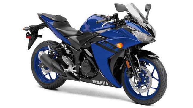 Yamaha YZF-R3 2018 trình làng với giá khởi điểm 4.999 USD