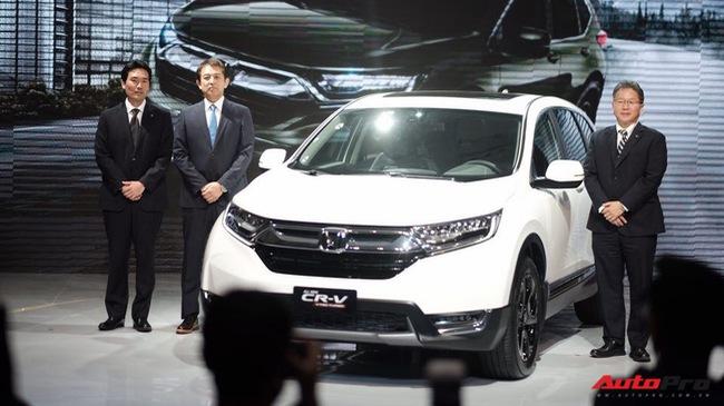 Honda CR-V 2018 chính thức ra mắt Việt Nam, giá cao nhất chưa đến 1,1 tỷ đồng