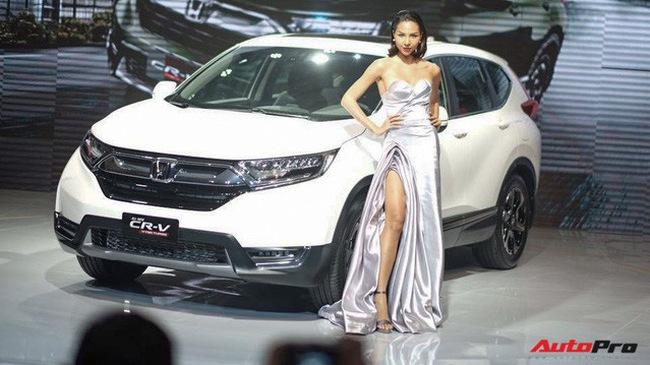 Giá lăn bánh ước tính của Honda CR-V 2018 tại Việt Nam