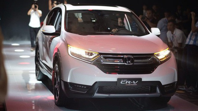 Ba phiên bản Honda CR-V 2018 khác nhau như thế nào?
