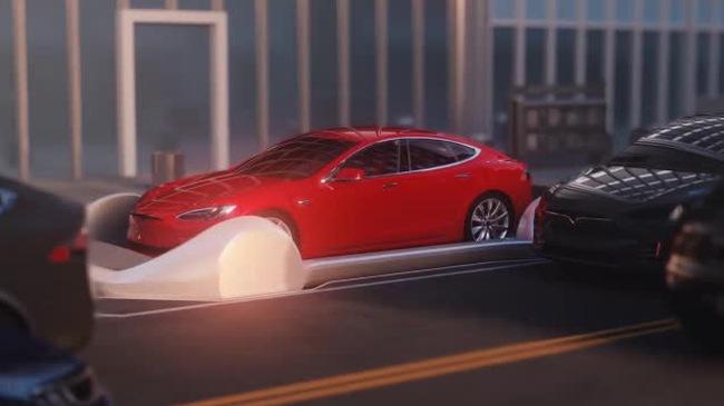 Elon Musk chia sẻ về dự án giao thông ngầm đầy tham vọng với ván trượt giúp xe di chuyển không cần người lái