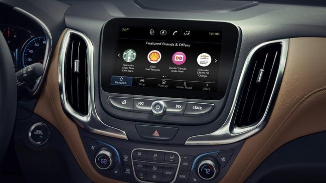 """Người dùng xe GM có thể """"đi chợ"""" ngay trên ô tô"""