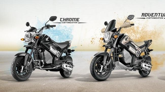Xe 110 phân khối siêu rẻ Honda NAVi có thêm 2 phiên bản mới