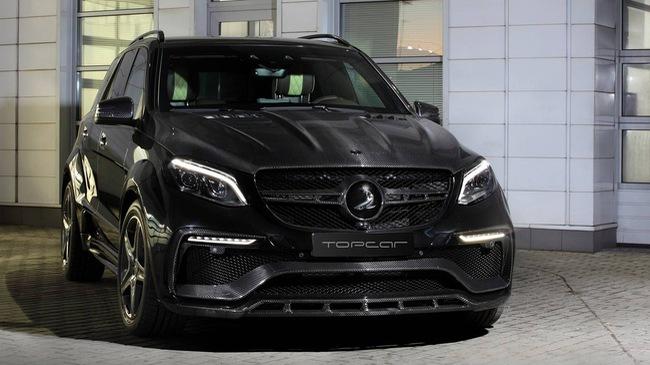 Mercedes-Benz GLE 2016 với nội thất bọc da cá sấu và mạ vàng của người Nga