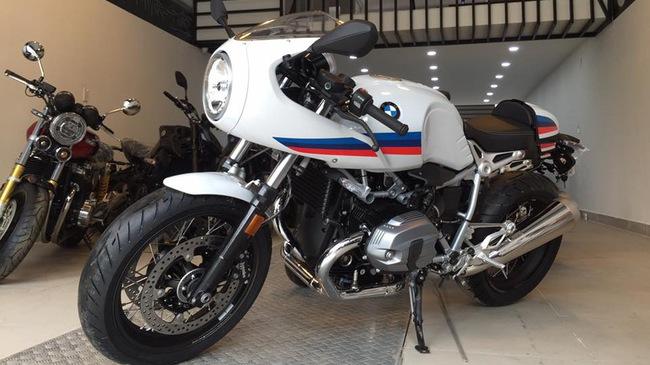 BMW R nineT phiên bản Racer đầu tiên cập bến Việt Nam
