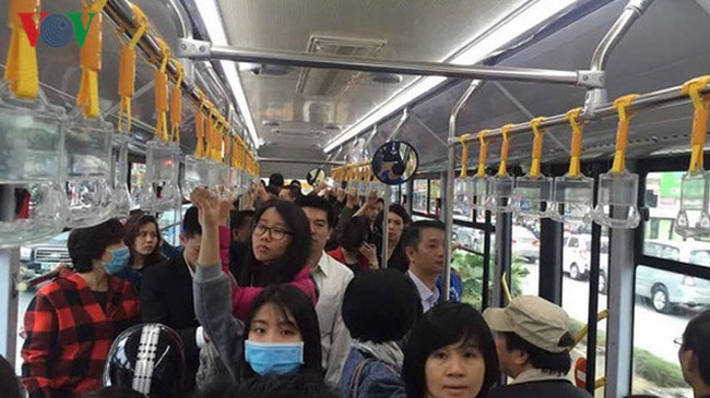 Sau 5 ngày, xe buýt nhanh BRT chở gần 54.000 lượt hành khách 
