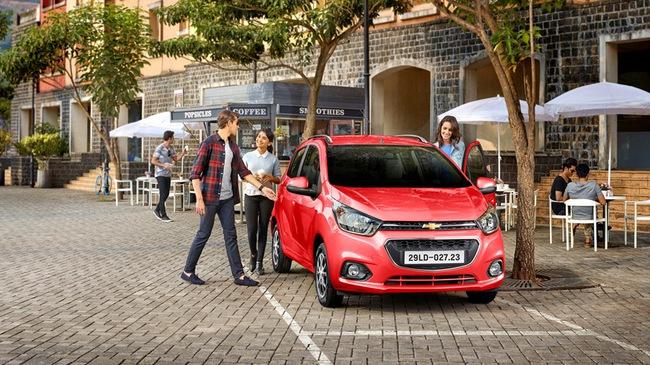 Chevrolet Spark 2018 chính thức ra mắt Việt Nam, giá từ 299 triệu Đồng