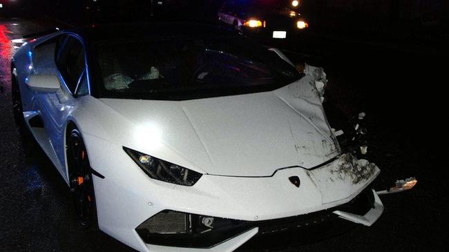 """Lái Lamborghini Huracan không phải của mình đi tiệc tùng, nam thanh niên nhận cái kết """"đắng"""""""
