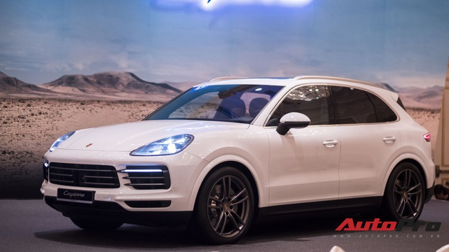 Chi tiết Porsche Cayenne S 2018 vừa ra mắt Việt Nam