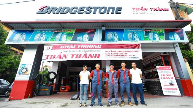 Bridgestone ưu đãi hấp dẫn mừng khai trương B-shop Tuấn Thành
