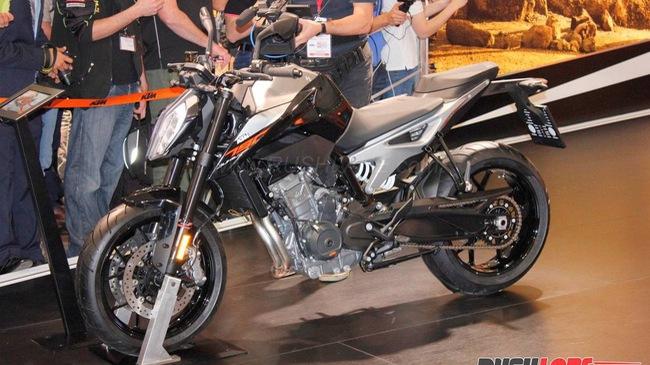 KTM 790 Duke - Naked bike ta?�m trung hoA�n toA�n ma��i