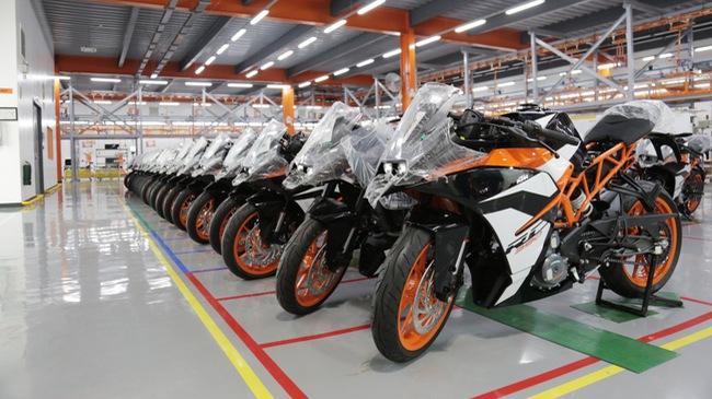 KTM sản xuất mô tô tại Philippines, người Việt có thể được hưởng lợi