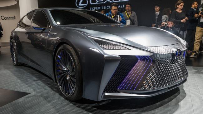 LS+ Concept - Hình ảnh xem trước cho sedan hạng sang đầu bảng của Lexus