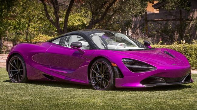 """McLaren ra mắt chiếc 720S """"hàng thửa"""" dành cho đại gia đam mê từ thiện"""