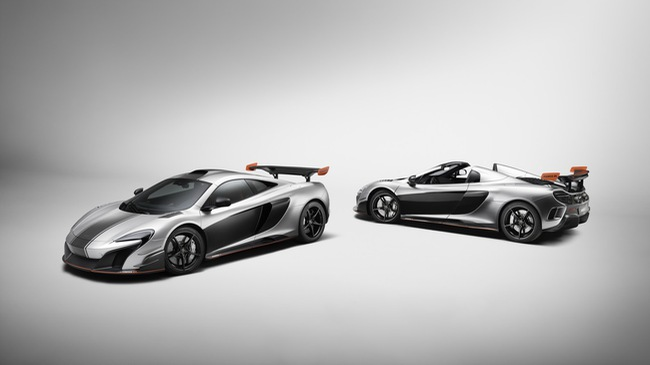 """Vén màn cặp đôi siêu xe McLaren MSO R Coupe và Spider """"thửa riêng"""" cho một đại gia"""