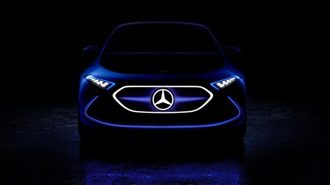 Mercedes-Benz EQ A lộ diện, cạnh tranh với BMW i3