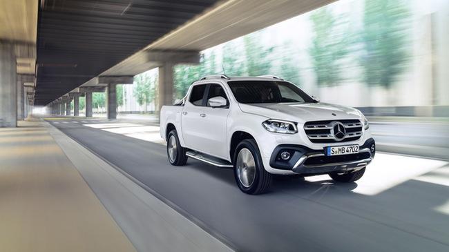 Xe bán tải hạng sang Mercedes-Benz X-Class 2018 trình làng, giá gần 1 tỷ Đồng