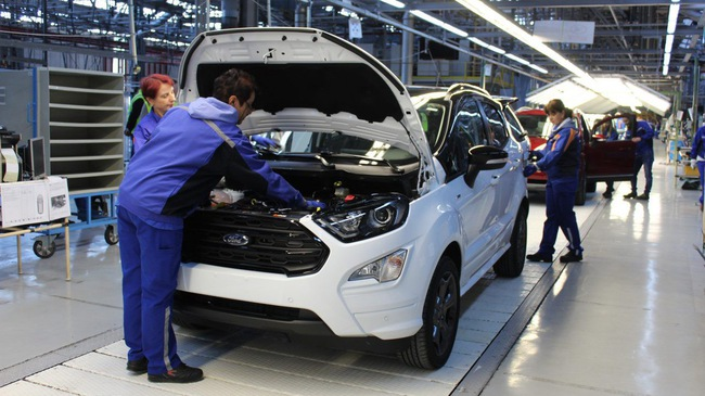 Cùng lắp ráp - Le lói cơ hội hạ giá thành ô tô