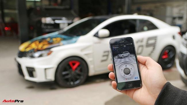 Trải nghiệm Mykey - khoá thông minh điều khiển ô tô bằng điện thoại