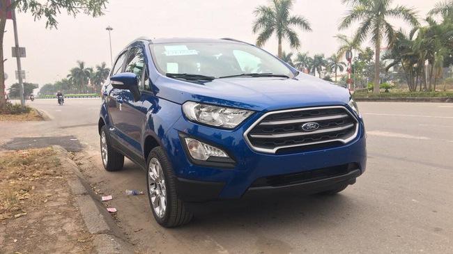 Ford EcoSport 2018 bất ngờ xuất hiện tại Việt Nam
