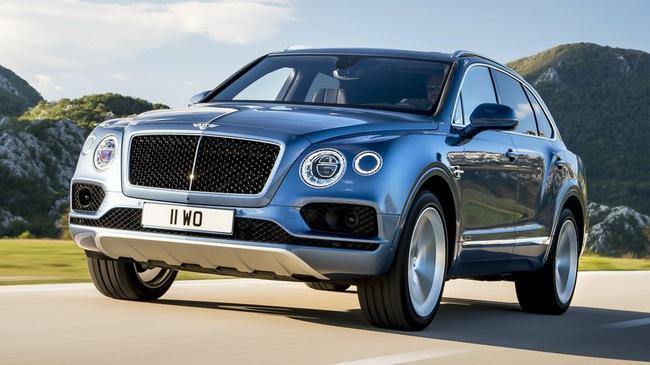 Bentley Bentayga động cơ V8 được dự đoán sẽ ra mắt vào giữa năm 2018