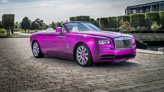 """Diện kiến Rolls-Royce Dawn màu tím """"thửa riêng"""" của một nhà sưu tập xe nổi tiếng"""