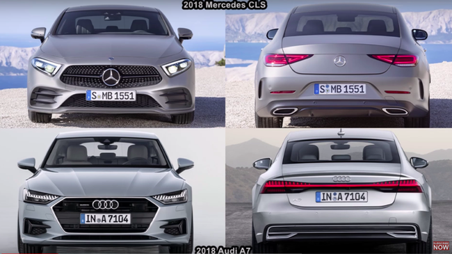 Mercedes-Benz CLS đấu Audi A7: Cặp đôi xứng tầm