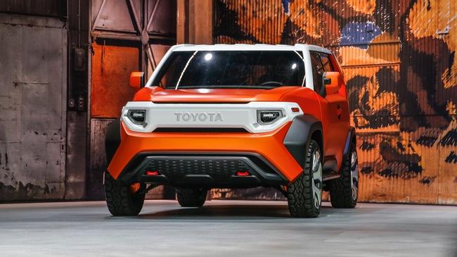 Mẫu xe Toyota lý tưởng cho những người trẻ thích dã ngoại