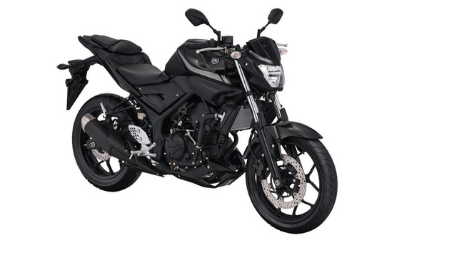 Xe naked bike Yamaha MT-25 2017 trình làng với thiết kế thay đổi nhẹ