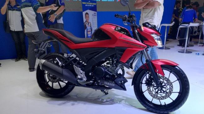 Xe côn tay Yamaha V-Ixion R 2017 bắt đầu được bày bán với giá từ 49 triệu Đồng