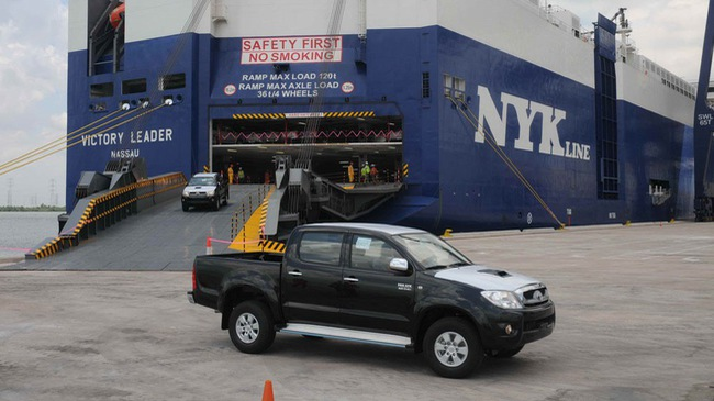 Vỏn vẹn 17 xe du lịch NK trong tháng đầu năm