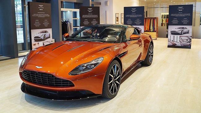Aston Martin sẽ bán những mẫu xe nào tại Việt Nam?