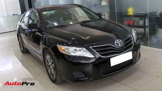 Toyota Camry LE 2009 bản Mỹ đi 65.500km rao bán lại giá 880 triệu đồng