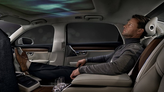 Volvo S90 Ambience Concept - Xe sang cho ông chủ