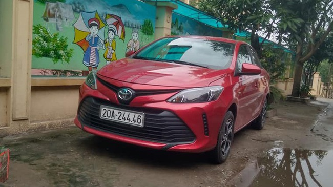 Toyota Vios bản nâng cấp mới âm thầm xuất hiện tại Việt Nam