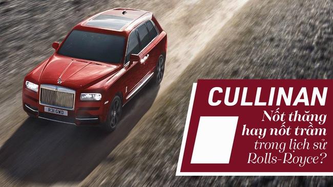 [Photo Story] Cullinan: Nốt thăng hay nốt trầm trong lịch sử Rolls-Royce?