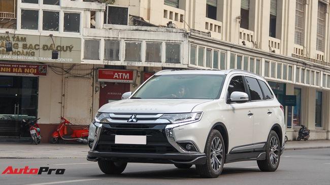 Đánh giá Mitsubishi Outlander: Xe lắp ráp mang chất lượng xe nhập khẩu
