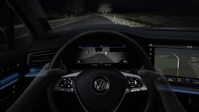 Volkswagen công bố chi tiết hệ thống tầm nhìn hồng ngoại ban đêm