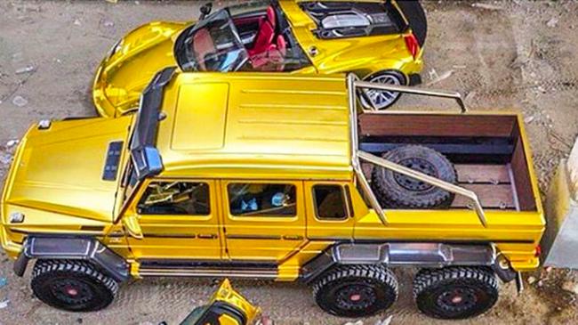 Hội con nhà giàu trên thê giới khoe siêu xe như thế nào?