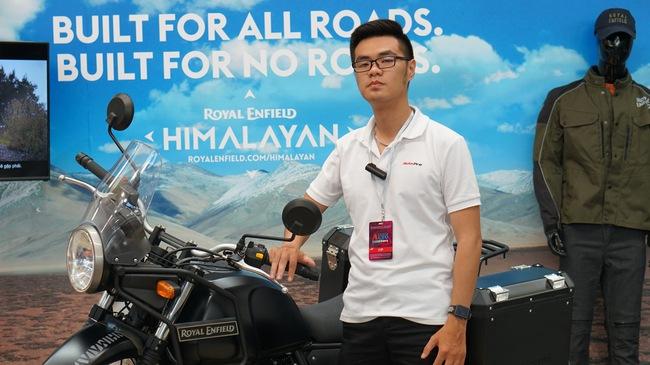 Royal Enfield Himalayan ra mắt Việt Nam, giá 131,7 triệu đồng