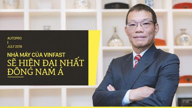 Sếp VINFAST tự tin như thế nào về sản xuất ô tô?