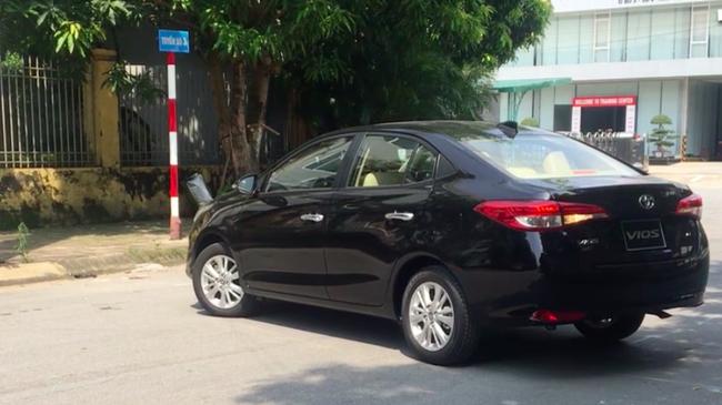 Toyota Vios 2018 lộ thông số kỹ thuật, lăn bánh ở Hà Nội