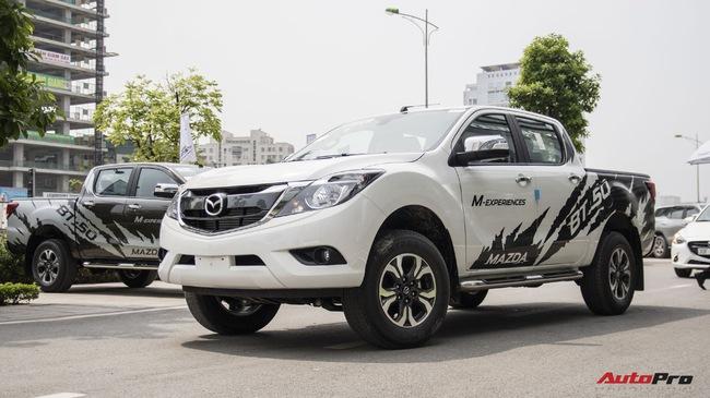 Chi tiết Mazda BT-50 phiên bản mới được nâng cấp để cạnh tranh Ford Ranger và Chevrolet Colorado