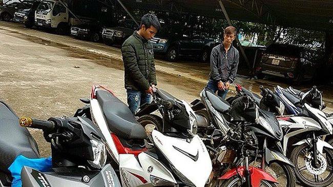 Trộm xe máy rồi lên Facebook rao bán