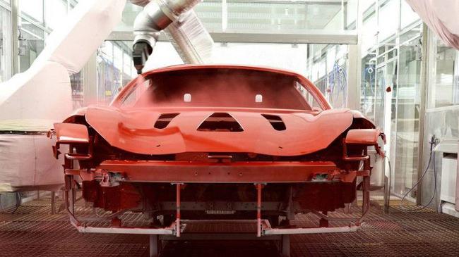 Với công nghệ sơn mới, Ferrari chỉ cần
