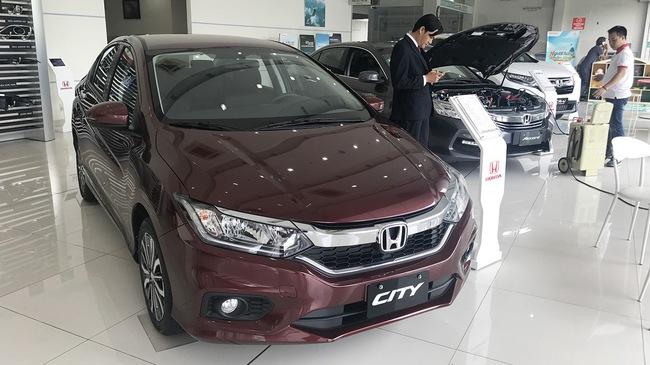 City giúp Honda vượt qua Kia lẫn Mazda trong tháng ngâu vừa qua