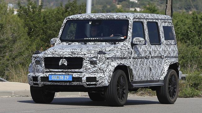 Mercedes-Benz G-Class thế hệ mới chốt lịch ra mắt