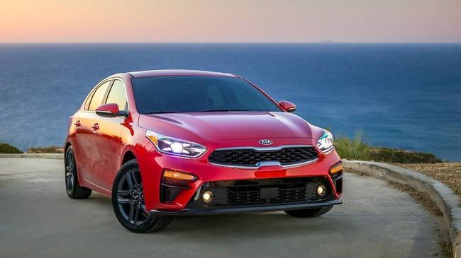 Kia Forte 2019 khá lớn hơn và tiết kiệm nguồn xăng hơn trước