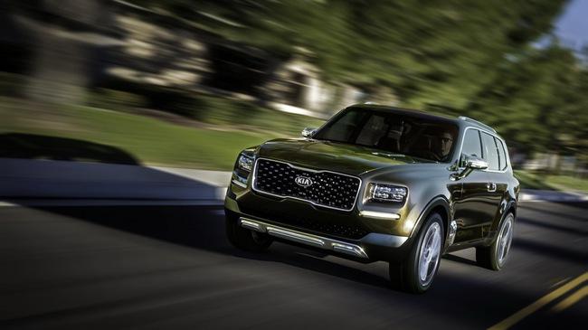 Kia sắp sản xuất SUV đàn anh của Sorento mang tên Telluride