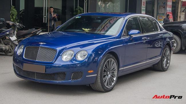 """Bentley Continental Flying Spur Speed đi 10 năm bán lại """"chỉ"""" 2,85 tỷ đồng"""